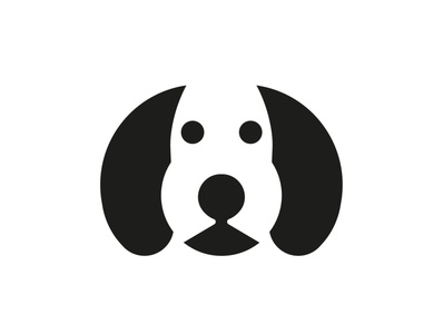 dog 3 icon flat identity art logo vector minimal illustrator branding design