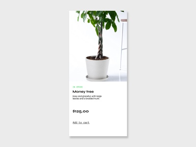 DAILY UI: In stock in stock daily ui challenge ux ui daily ui daily 100 challenge
