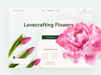 Florists Marketplace Homepage
