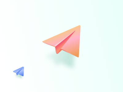 <3 telegram paper planes