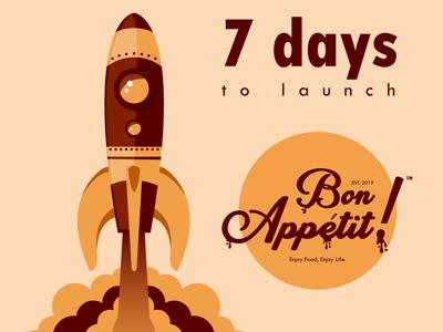 Bon Appetit Countdown Visual Design