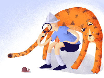 examine illustration