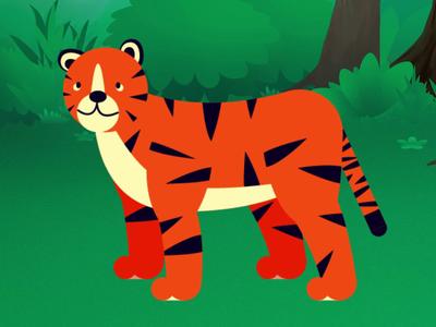 tiger character process