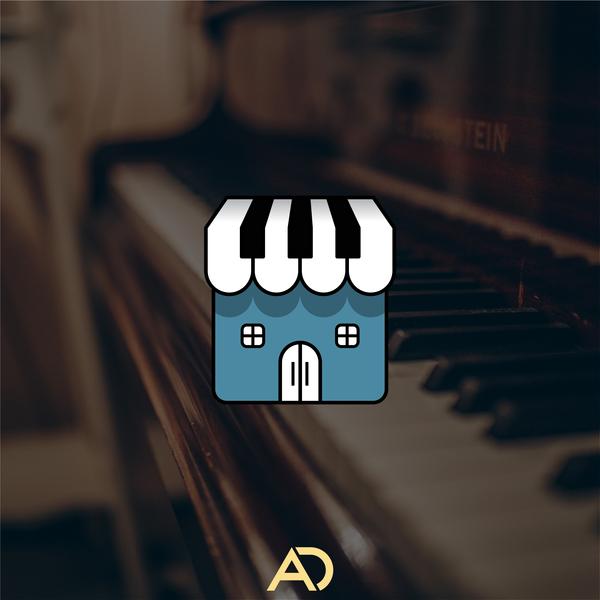 Piano Store branding logos logodesigner logodesign logo