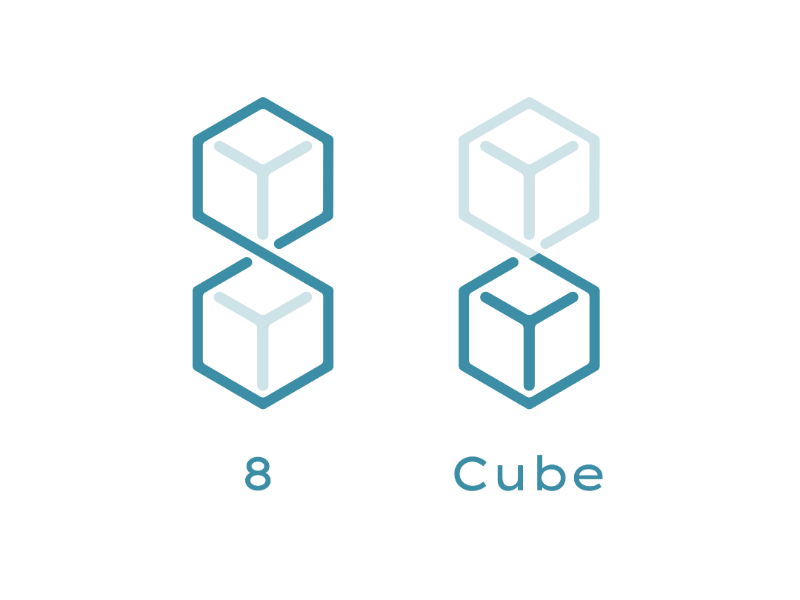 Eight cube logo logoinspiration logodesign logo