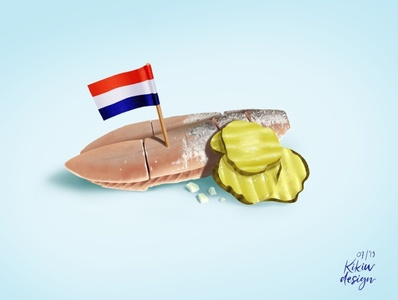 Herring: The tiny fish that the Dutch love