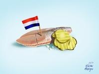 Herring: The tiny fish that the Dutch love