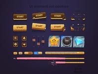 Revive UI elements look and feel, Cookies!