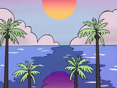 Citypop illustration citypop procreate illustration ipadpro procreate