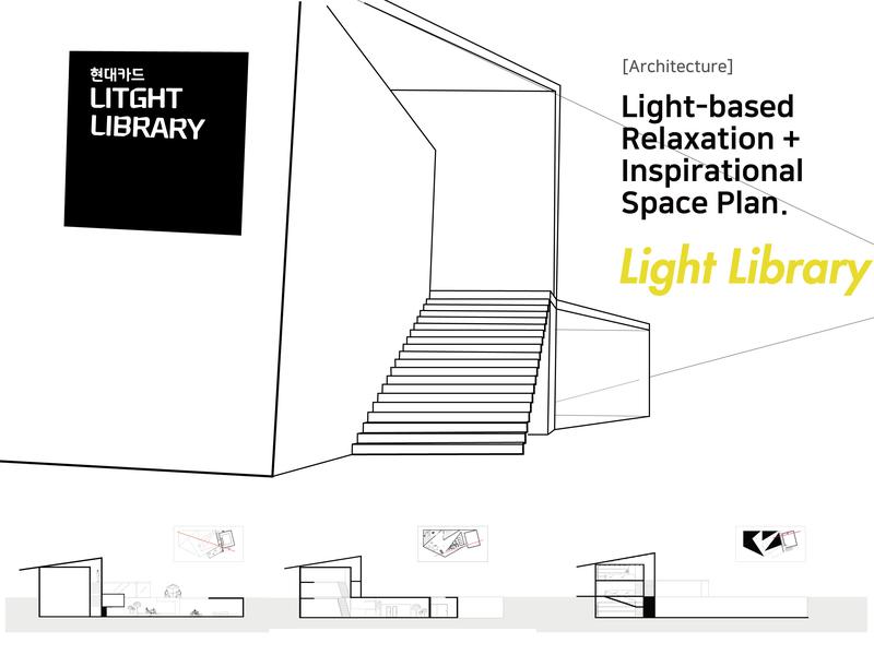 Light Library Elevation design space floorplan architecture