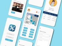 Campair interface app design app uxdesign uidesign