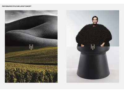VI design for HOMME TERROIR