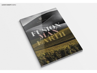 brochure design for HOMME TERROIR
