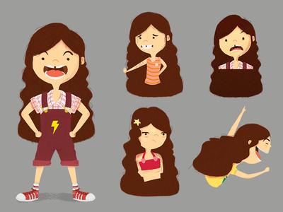 Elle Character Design