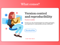 Yuve section landing page