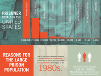 US Mass Incarceration Infographic
