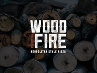 Wood and Fire Logo Concept One
