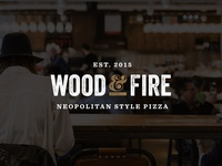 Wood and Fire Logo Concept Three