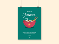 Country Lunch Vietnam Poster