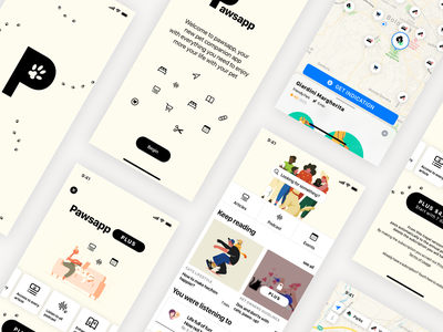 Designflows 2020 contest music shop map illustrator graphic  design pet fashion apple iphone ios icon branding blur ux ui graphic design design clean app