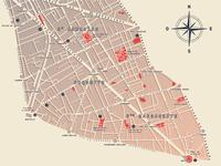 Paris - 11th arrondissement | Map design [2]