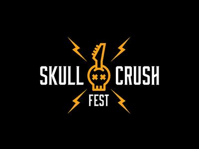 Skull Crush Fest Logo