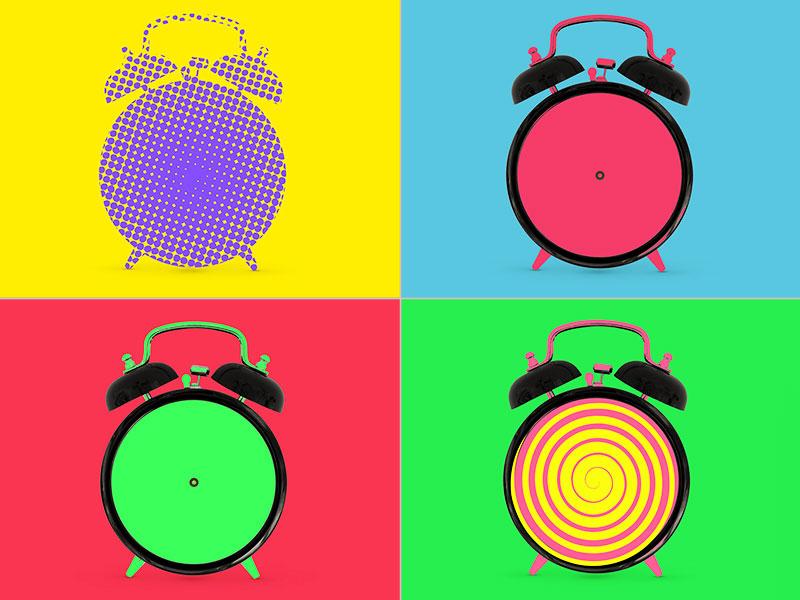 Clocks time cuba cuban fantasy clock pop artwork digital photoshop psd expo