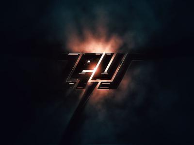Zeus  lighting logo electric energy disco music zeus brand