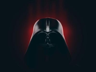 Star Games direction art movie red dark logo wars star vader darth