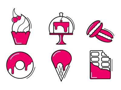 Icons Sweet