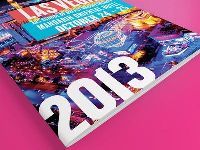 ABS Las Vegas Brochure brochure print las vegas color glow lights