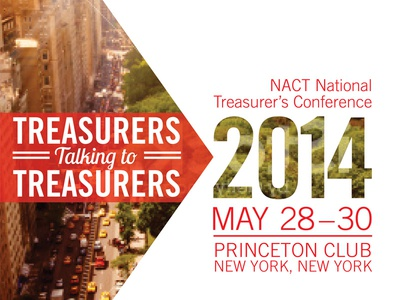 NACT Annual Conference in NYC new york new york city print design typography nyc