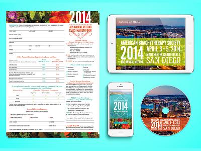 Branding Identity ABS San Diego san diego cali california print annual meeting form iphone ipad