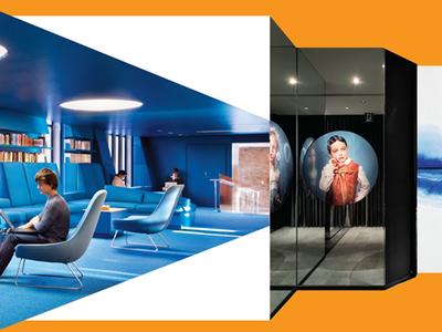 Best in 10 ad interior design photos typography magazine print