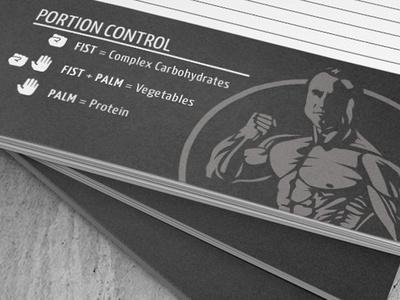 Warriorfit design typography workout fitness health print