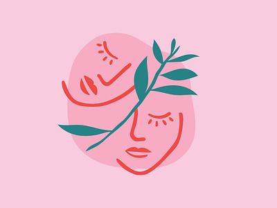 Mama Amour Branding logo mark brand identity illustration vector icon logo design design logo branding design branding