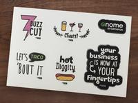 Gnome Swag Stickers