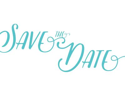 Save the Date Postcard save the date vigneta anniversary