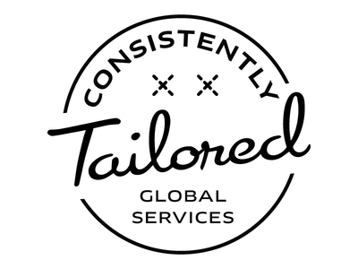 Consistently Tailored logo emblem logo