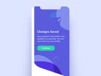 Daily UI #011 - Alert purple dailyui modal dialog confirmation alert payment blue daily ui