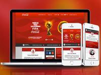 Coca Cola UI redesign