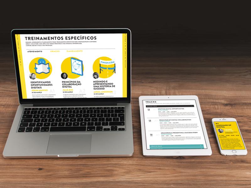 Responsive Landing Page mockup ipad mobile rdw ux ui design responsive