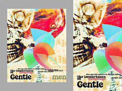 Gentlemen background design music poster book cover idea poster series posters typography poster background light editorial manipulation designer vector composition cover art design illustration artwork