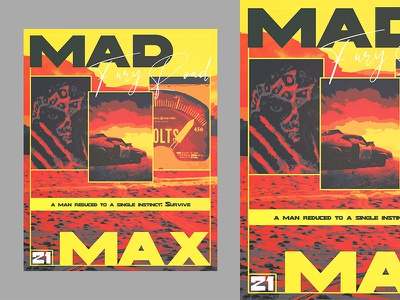 MAD MAX: Fury Road composition branding poster background artwork designer editorial manipulation design cover art book cover typography art typography poster a day poster art poster design advertising photoshop