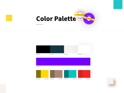 Color Palette website design vibrant colors brand guidelines branding color palette colors color