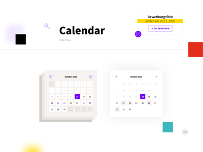 Calendar meeting event uidesign date picker webdesign timetable scheduler planner web ux datepicker ui interface date component calendar