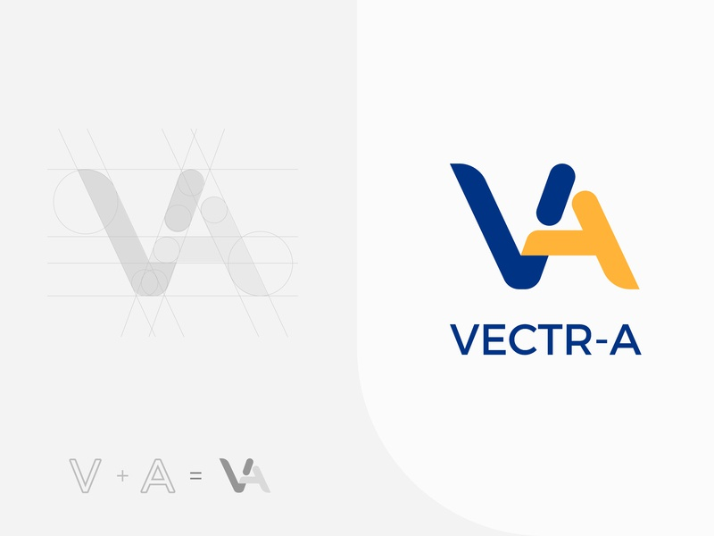 VEKTR-A Logo Design identity branding identity design idenity graphic graphicdesign graphic design color palette colorful aesthetics branding vector illustration design concept logodesign logotype logo