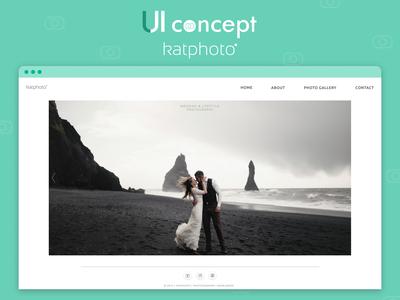 Katphoto - UI Concept for Photographer