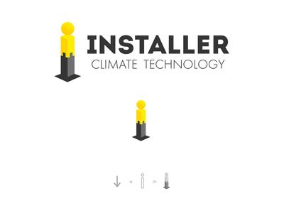 Installer Logo Design