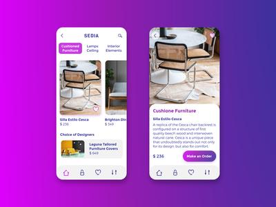 Sedia Design Mobile App